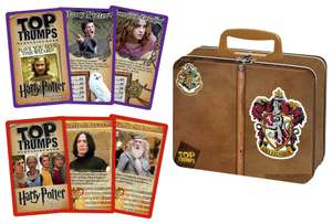 Harry Potter Gryffindor Top Trumps Collectors Tin Card Game £4.99 click and collect at Argos