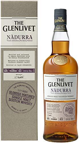 The Glenlivet Nàdurra Single Malt Scotch Whisky, 70cl, Cask strength, 1st fill Oloroso Sherry - £39.99 @ Amazon