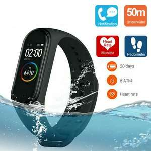 Xiaomi Mi Smart Band 4 Fitness Tracker with Heart Rate Monitor Amoled BT 5.0 - Black - £23.95 Delivered @ MyMemory