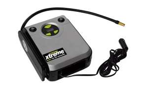 Challenge Xtreme Digital Tyre Inflator with Auto Cut Off, up to 100 PSI for £20 click and collect (or +3.95 delivery) @ Argos