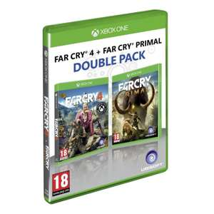 Far Cry 4 + Far Cry Primal Double Pack (Xbox One) - £12.95 delivered at The Game collection (PS4 at £14.95)