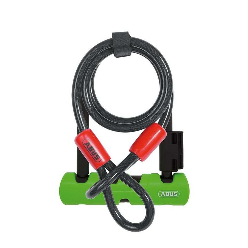 Abus Ultra Mini 410 + cable bike lock £17.99 delivered @ Tiso.Com
