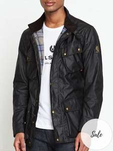 Belstaff Trialmaster black/navy Wax Jacket (Size M or 3XL) £292.00 @ Very