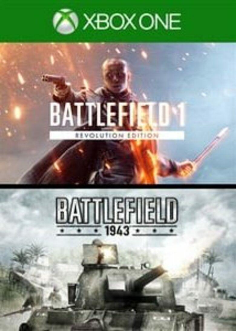 Battlefield 1 Revolution & Battlefield 1943 - Xbox One - £2.99 @ CDKeys