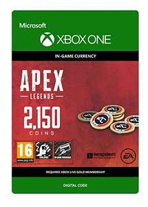 APEX Legends: 2150 Coins | Xbox One - Download Code £8.79 Amazon