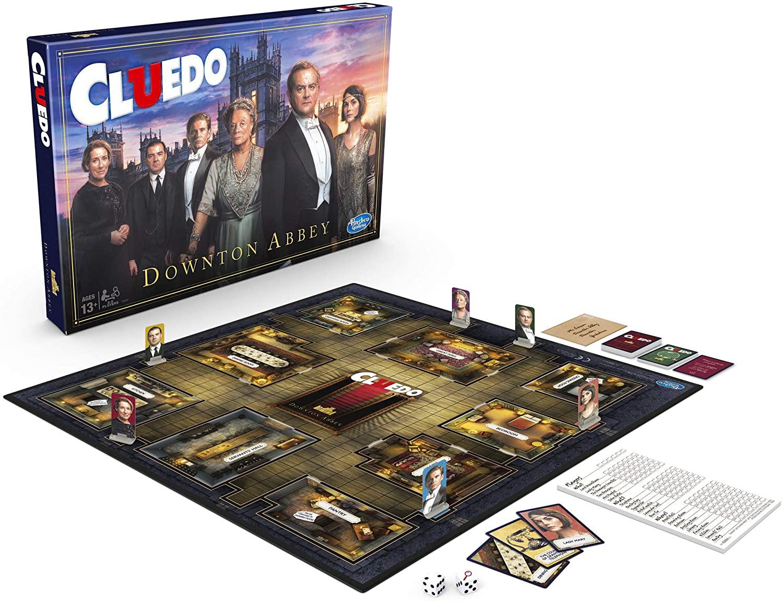Cluedo Downton abbey edition board game - £12.50 prime / +£4.49 p&p non prime @ amazon