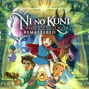 Ni no kuni Wrath of The White Witch Remastered - £8.83 with code @ Voidu