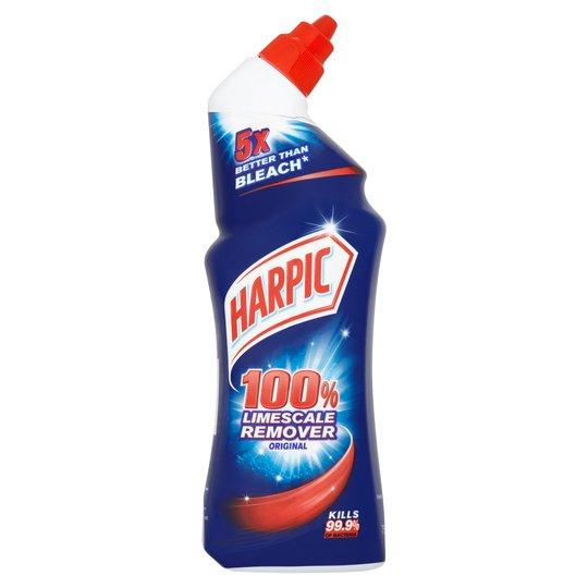 Harpic Limescale Remover Original Toilet Cleaner 750Ml - £1 @ Tesco