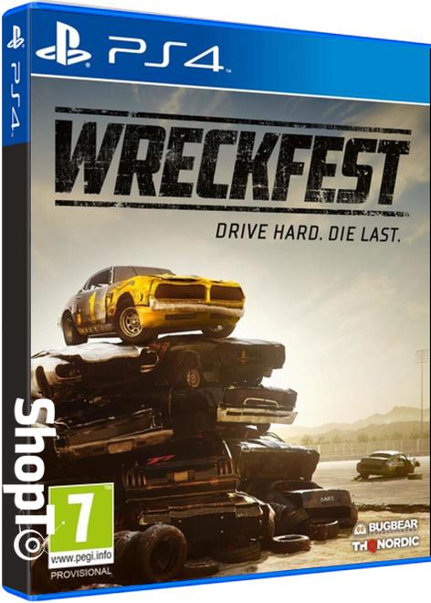 Wreckfest (PS4) - £18.85 Delivered @ Shopto