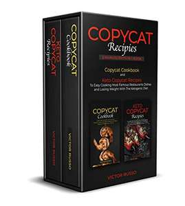 Keto Diet Explained  2 in 1 Ebook- Copycat Cookbook and Keto Copycat Recipes FREE Kindle Edition @ Amazon