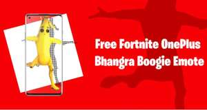 Freebie Fortnite Bhangra Boogie Emote for OnePlus Device Owners