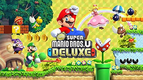 [Nintendo Switch] New Super Mario Bros U Deluxe £31.21 / Super Mario Maker 2 £31.21 (Digital) @ Amazon.com