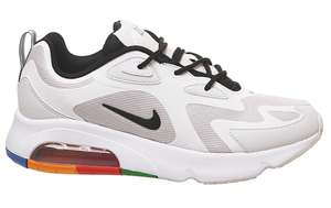 Nike Air Max 200 Trainers Vast Grey Black White Pacific Blue Habanero Red Ku £55 + £3.50 delivery @ Office