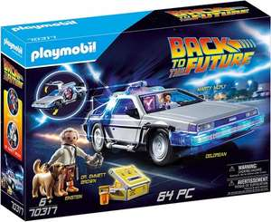Playmobil Back To The Future 70317 Delorean With Light Effects £35.09 @ Jacinabox