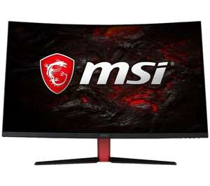 MSI Optix AG32CV 31.5 inch FHD VA 1ms Freesync 165Hz Curved Gaming Monitor - £244 delivered with code at Currys PC World