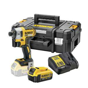 Dewalt impact driver ,charger and 4.0ah battery - £149.99 delivered @ Power Tool World