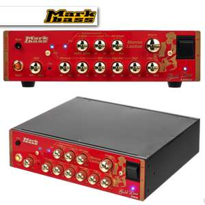 Markbass LTD Gold Line Bass Amp Heads From £318 - £528 - 250W £318 / 500W £399 / 800W £499 / 1000W £528 Delivered @ Thomann
