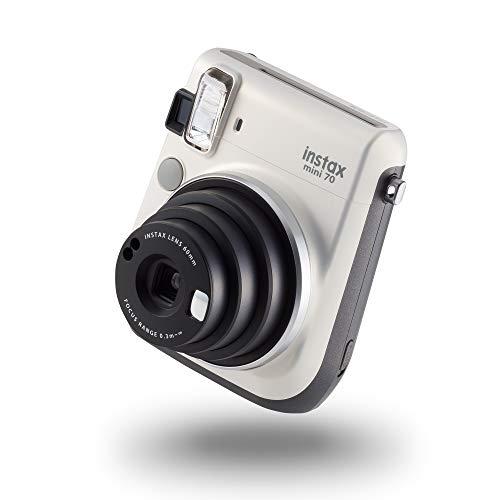 instax mini 70 camera with 10 shots, Moon White £47.50 @ Amazon