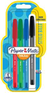 PaperMate inkjoy 4 pack ballpoint pens 59p also different types of pens available at Home Bargains Musselburgh