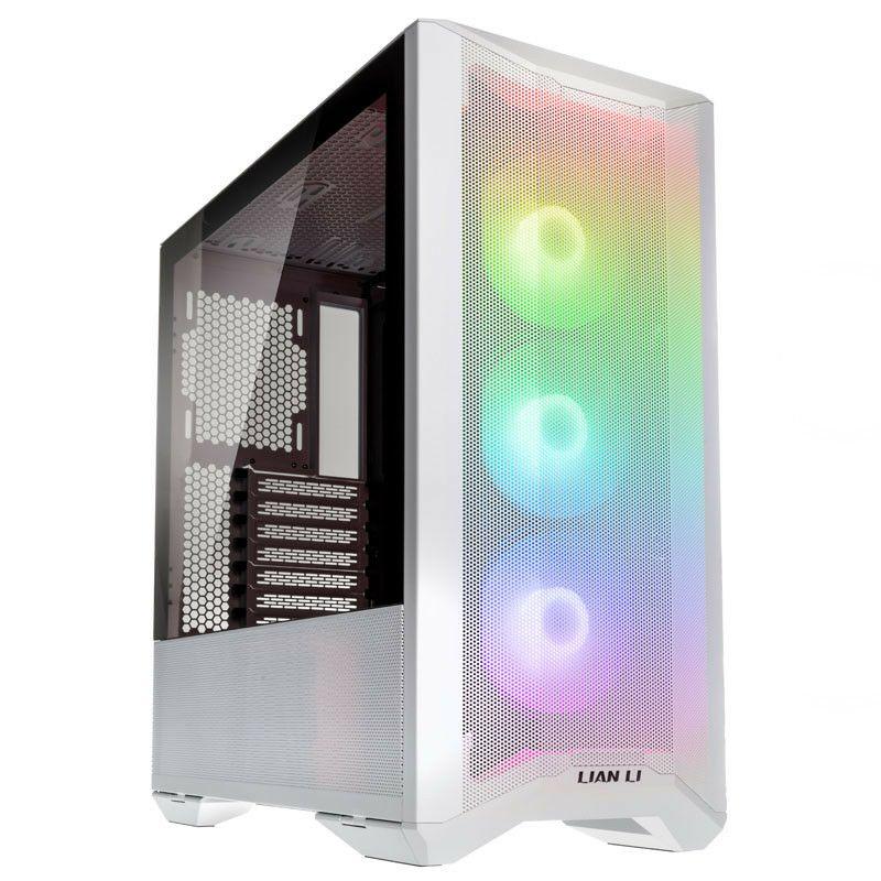 Lian-Li Lancool II Mesh RGB Midi-Tower PC Case White - £92.59 Delivered @ Overclockers
