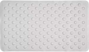 Argos Home Rubber Bath Mat - White Now £3.75 with Free C&C From Argos