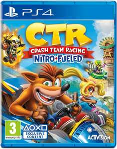 Crash Team Racing Nitro Fueled (PS4 & Xbox One) Pre-owned Only £19.99 @ Game (Or part of 2 for £30 in Store / £4.99 Delivery)