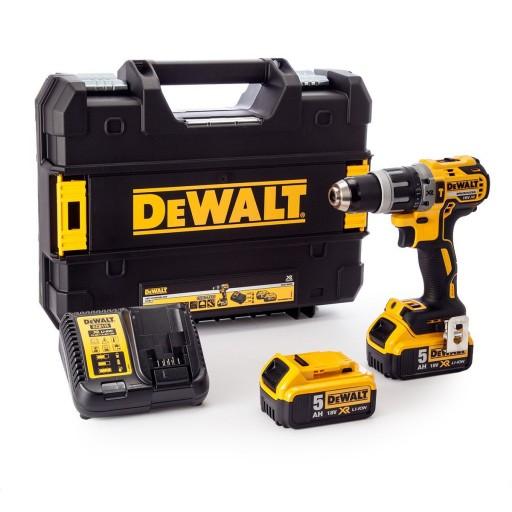 Dewalt DCD796P2-GB 18V XR Brushless Combi Drill. + 2 x 5 Ah Lion Batteries £194.99 delivered @ Toolsense
