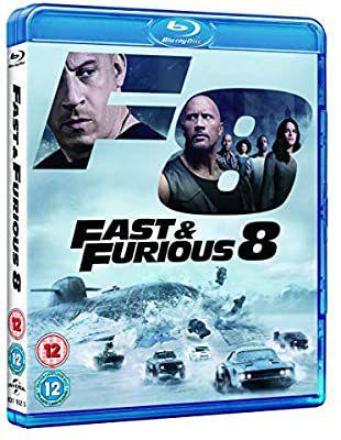Fast and Furious 8 Blu-ray - £4 Amazon Prime / £6.99 Non Prime @ Amazon