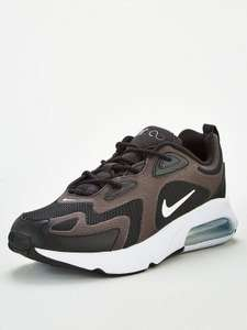 Nike Air Max 200 - Black/White/Silver £44 @ Very Free click and collect