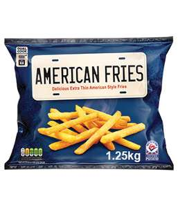 1.25kg American Style Extra Thin Fries (Oven or Fry) - 69p @ Farmfoods