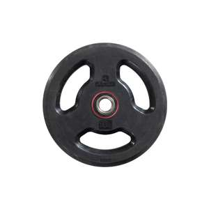 10kg rubber weight plates £19.99 (Free Click & Collect) @ Decathlon