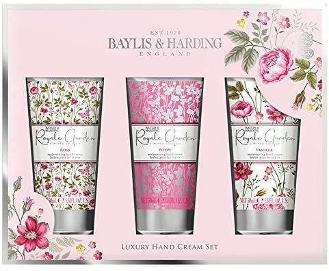 Baylis and Harding royale garden assorted hand cream set 3 X 50ml - £3.99 @ Amazon prime (£4.49 p&p non prime)