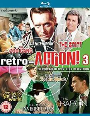 Retro Action Volume 3 ITV blu ray £2.95 (£2.99 p&p non prime) @ Entertainment fulfilled by Amazon