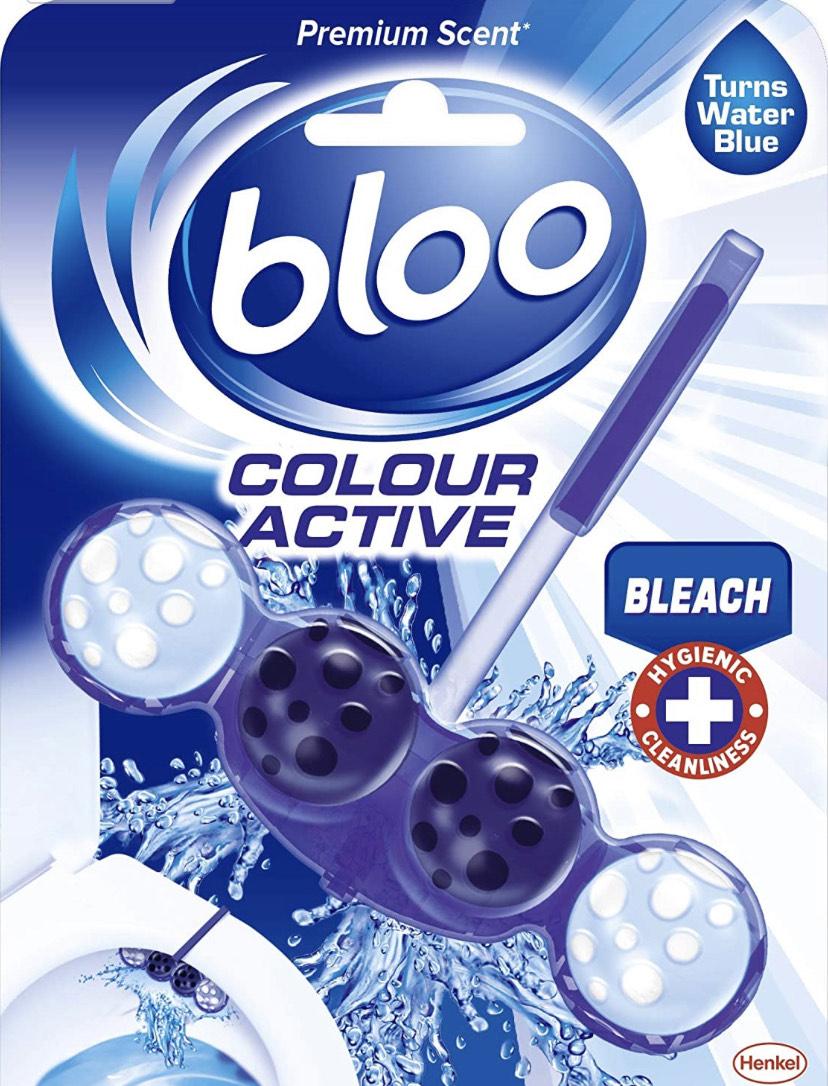 Bloo Colour Active Bleach Toilet Rim Block £1.50 @ Amazon (£1.46 S&S) £5.99 non-prime