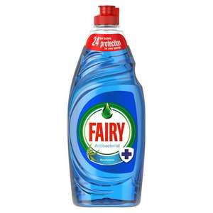 Fairy antibacterial 625ml 90p in-store @ Marks & Spencer Broughty ferry store