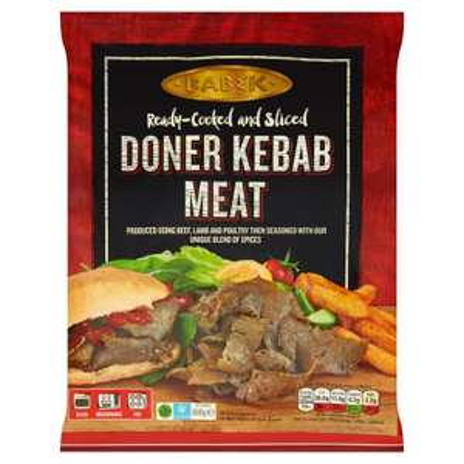 Babek Doner Kebab Meat 600g £1 at Heron Foods Warrington