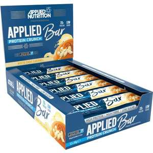 12 applied protein crunch bars £7.91 + £2.95 at Powerbody