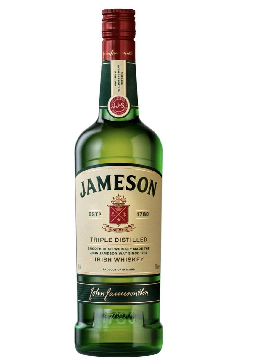 Jameson Irish Whiskey 70cl @ Sainsbury's for £18