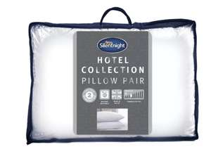 Silentnight Luxury Hotel Collection Med/Soft Pillow - 2 Pack £12 Argos - free c&c