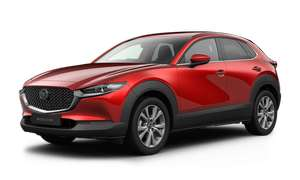 MAZDA New CX-30 2.0 Skyactiv-G MHEV SE-L 5dr PCP £169.56 42m, deposit £3,650.00 Optional final payment £11,227.50 Total £21,999.00 at Perrys
