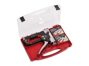 Parkside Heavy duty Staple Gun Set For Fabrics & wood £4.99 Intore from the 19th July 2020 @ Lidl