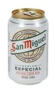 Imported San Miguel 8 x 330ml Cans £6 at Aldi at White City Manchester