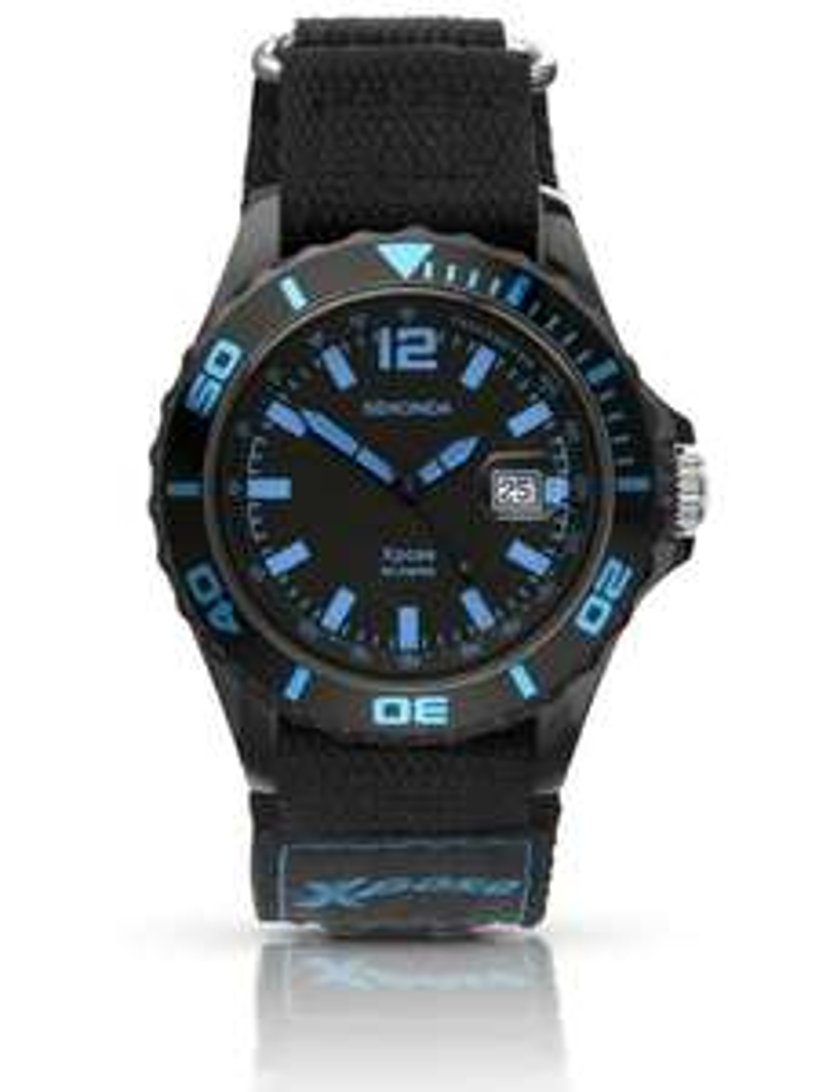 SekondaMens Xpose Sports Black Dial Nylon Strap Watch 3523 £10.99 at House of Watches
