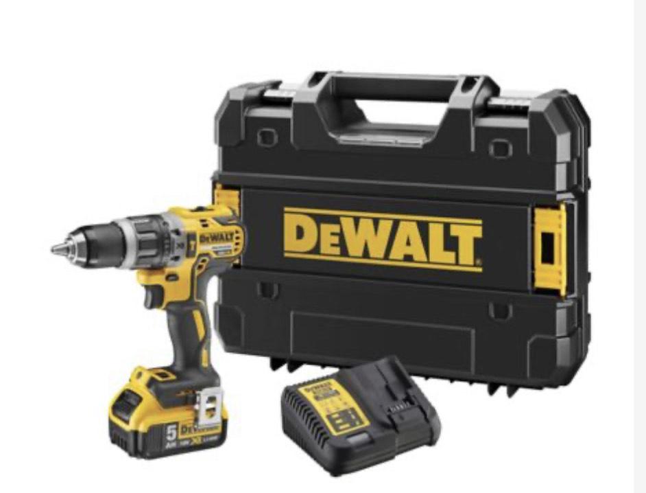 DeWalt 18V XR Brushless Compact Combi Drill - DCD796P1-GB £149.99 at City plumbing