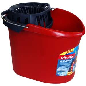 Vileda SuperMocio Torsion Floor Mop Bucket 10L and Power Press Wringer (Mop not included) - £3.50 (In store) @ Asda Portsmouth