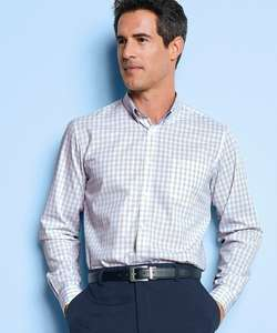Pure cotton men's long sleeve shirt £11.25 Delivered Free with Code From Damart