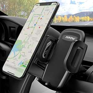 Mpow Universal Adjustable Car Mount, Air Vent Phone Holder - £5.99 for prime (+£4.49 otherwise) Sold by SJH EU LTD and Fulfilled by Amazon.