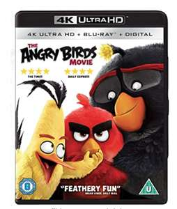 The Angry Birds Movie [4K Ultra HD] [Blu-ray] [Region Free] £5.24 Sold by D & B ENTERTAINMENT and Fulfilled by Amazon.