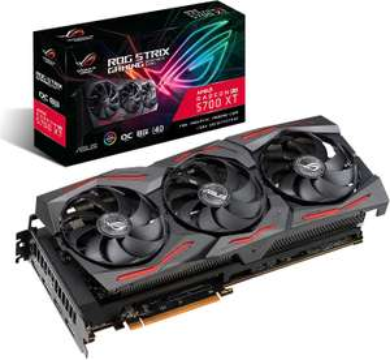 ASUS ROG Strix Radeon RX 5700 XT OC Edition 8GB GDDR6 Graphics Card - £343.76 (£336 w/ fee free card) @ Amazon Spain