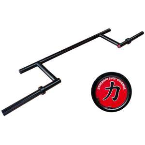 Olympic Cambered Bar 25kg (400kg rated) £179.99 @ Strength Shop